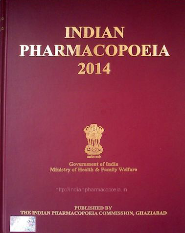 Indian Pharmacopoeia