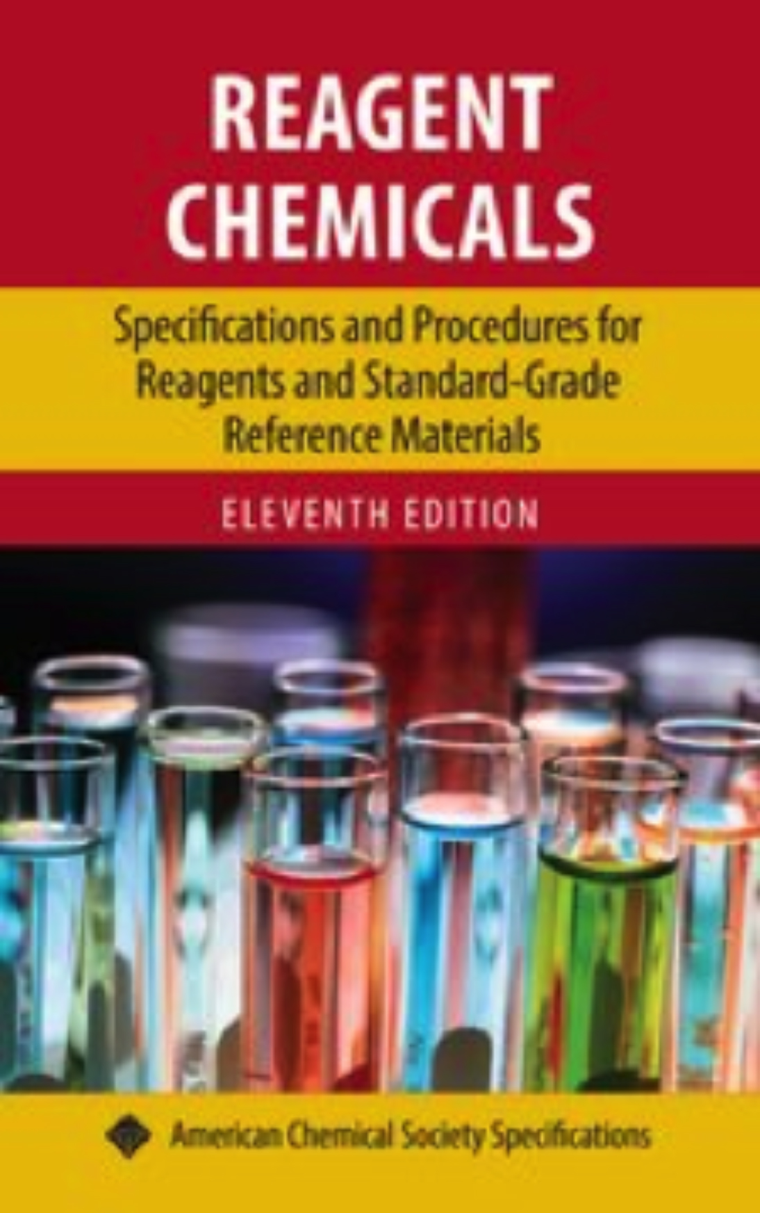 Order Reagent Chemicals 11th Edition